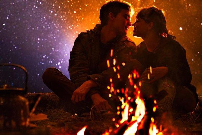 Romantic night in the Desert
