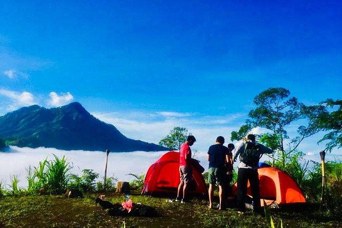Bali Camping Experience at Mount Batur Volcano