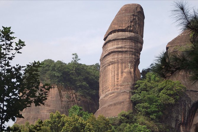 All Inclusive Private Day Trip to Danxia and Nanhua Monastery by Bullet Train from Guangzhou photo 1