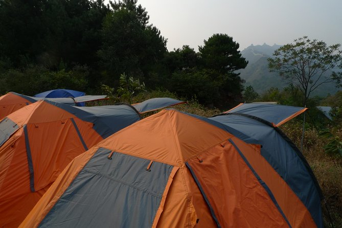 Private Overnight Camping Trip to Gubeikou and Jinshanling Great Wall