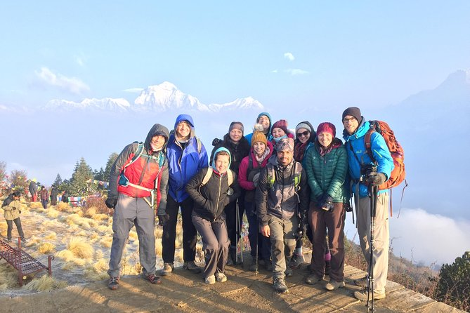 Poon Hill Flash Trek with 4WD To and from Hile, Pokhara Nepal
