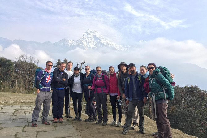 Close Up Poon Hill Circuit with Ghandruk Village Trek from Pokhara Nepal