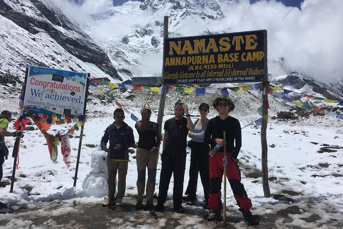 Exciting Very Short Annapurna Base Camp Trek from Kathmandu Nepal