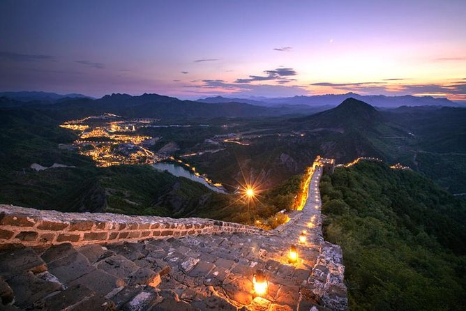 2-Day Night View of Simatai Great Wall and Gubei Water Town Trip from Beijing