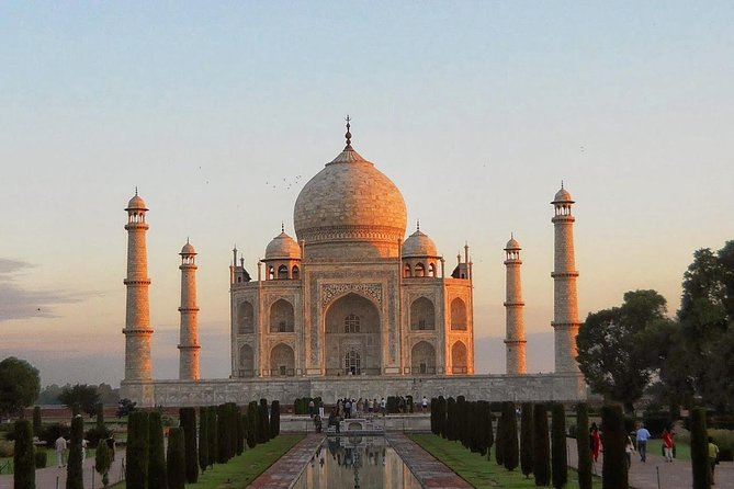 Overnight Sunset & Sunrise Taj Mahal Trip from Delhi includes,Hotel,Guide & Car