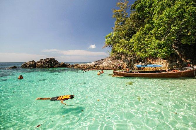 Schnorchel-Tagestour zu den Malediven von Thailand mit Longtail Boat von Koh Lipe