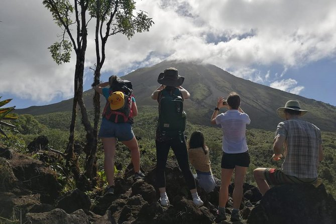 Morning Volcano Hike, Lunch & Hot Springs River