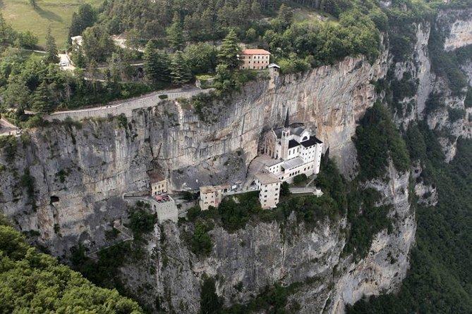 Madonna della Corona Sanctuary half-day tour from Lake Garda