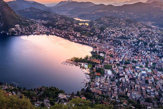 Lugano Lake Lugano Switzerland private guided tour