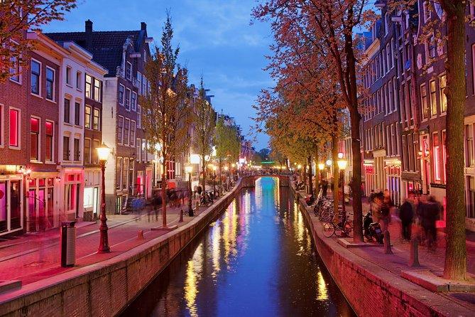 Excursão a pé ao Distrito da Luz Vermelha de Amsterdã