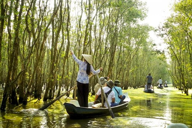 3-Day Private Tour Mekong Floating markets - Chau Doc - Tra Su forest from HCM