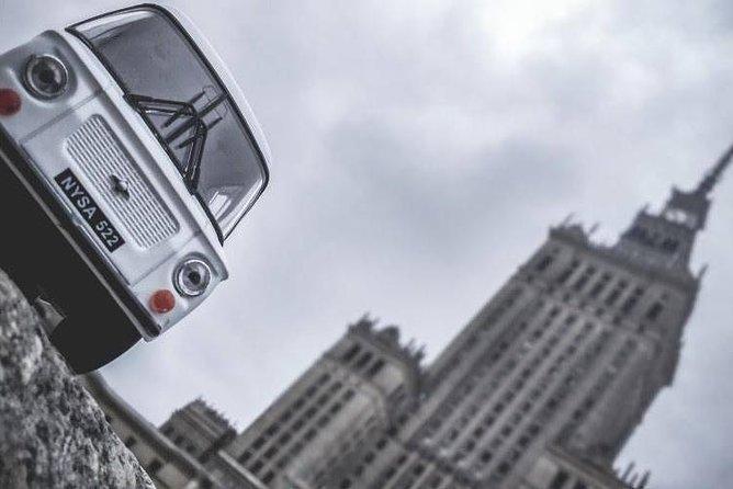 Retro Nysa minivan - the best option for the tour!