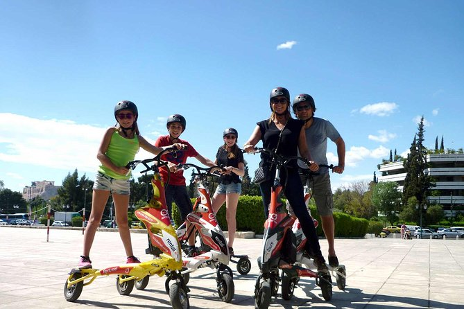 Athens Full Day Trikke, Acropolis and Museum Walking Tour