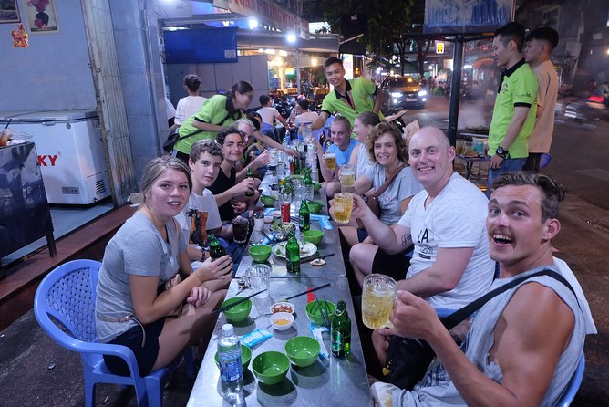 Saigon Night Walking Street Food Tour