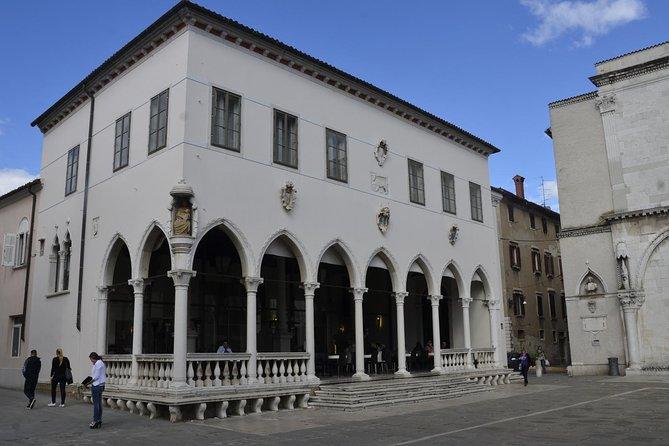 Loggia Venetian Gothic palace