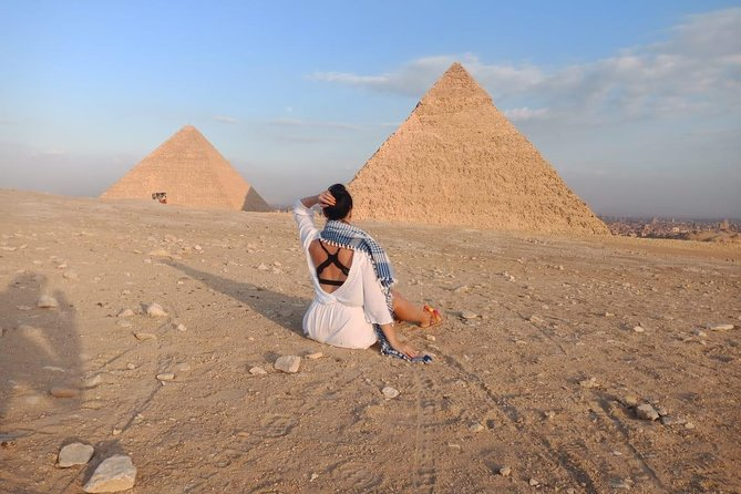 Giza Pyramids & Sphinx Half Day Private Tour