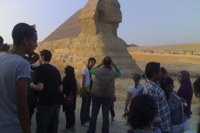 Giza Pyramids, Sphinx & Egyptian Museum Private Trip From Cairo Airport .