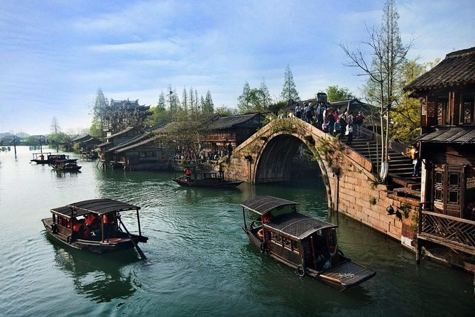 Private Zhujiajiao Water Town Tour with Bund and VIP Class Night River Cruise photo 8