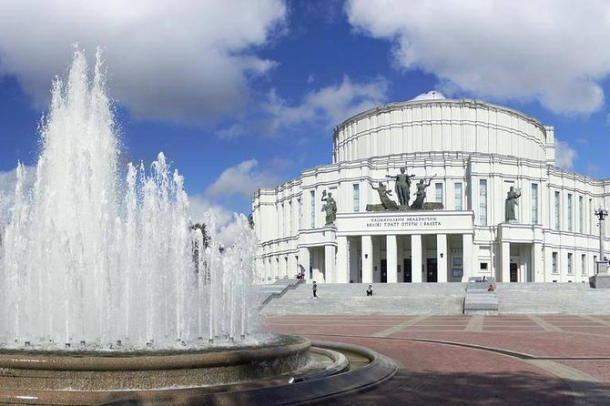 3-hours Guided Minsk City Tour (Driving & Walking Tour)