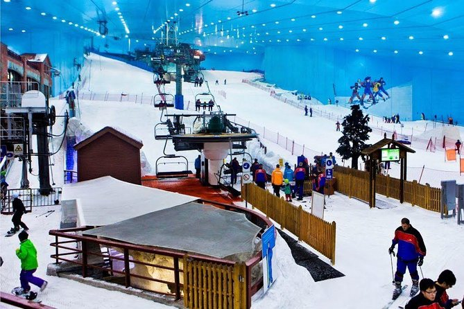 Snow Skiing, Dubai Mall Ice Rink packed Sightseeing Day Tour 3 in 1 for families photo 1