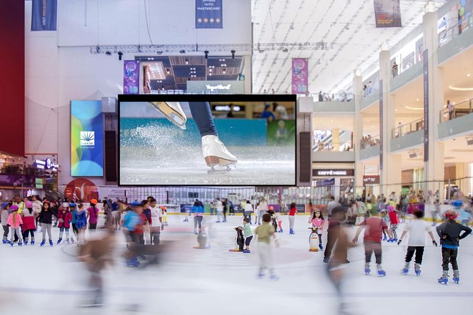 Snow Skiing, Dubai Mall Ice Rink packed Sightseeing Day Tour 3 in 1 for families photo 3
