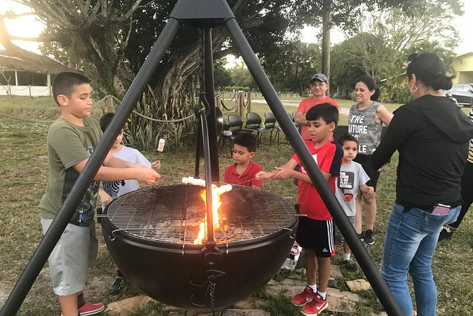 Join us for marshmallows around the fire