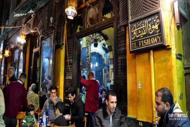 El-Moez Street, Cairo tower and El-Fishawy Café