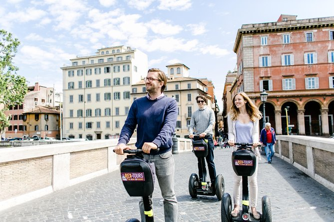 Segway Trastevere and Hidden Gems Small-Group Tour in Rome
