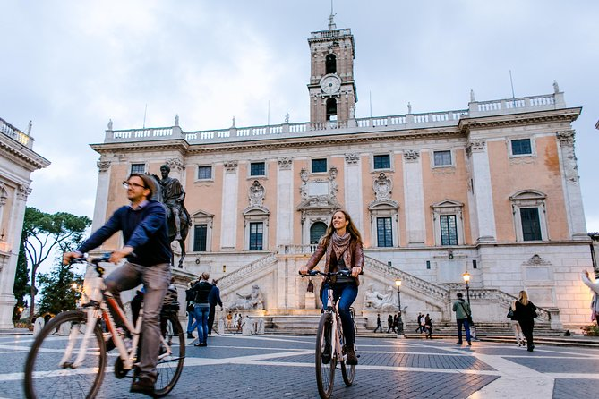 Rome City Bike Tour in Small Groups