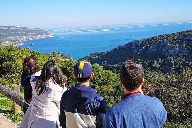 Tour privato di un giorno da Lisbona al Parco naturale di Azeitão e Arrábida