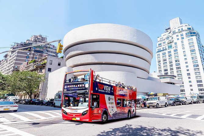 New York City Sightseeing Double Decker Bus Tour plus Upgrades
