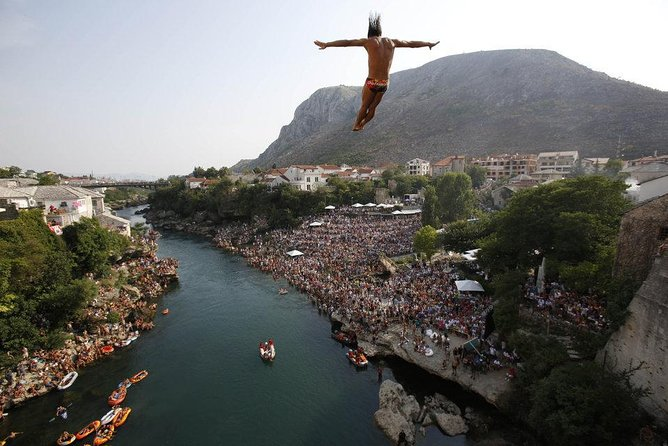 Mostar Old Bridge Traditional Diving Performance