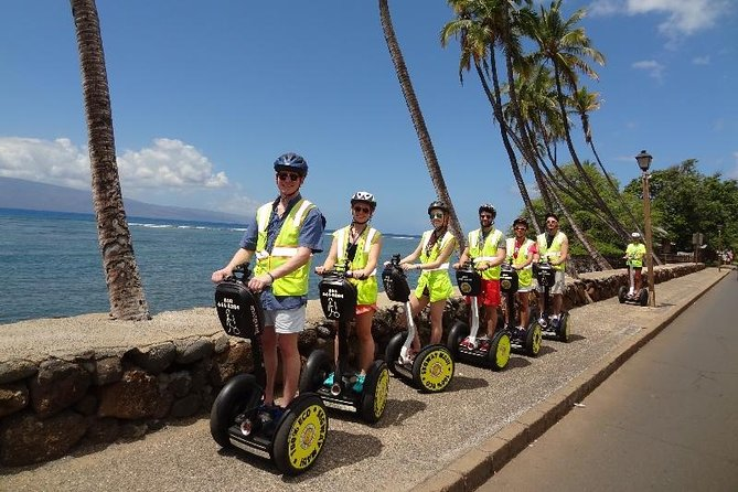 Segway PT Guided Tour on Maui Ocean Shore