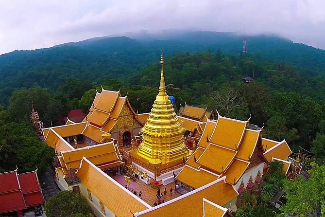 Wat Doi Suthep Tour from Chiang Mai with Hmong Hill Tribe Village