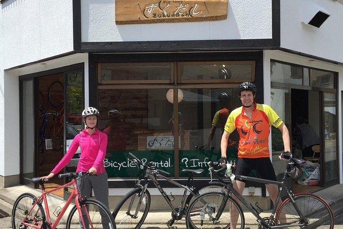 Onsen Town Cycling Tour in Nagano
