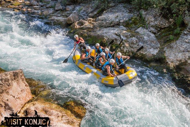 Rafting Neretva river