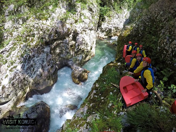Canyoning Rakitnica river