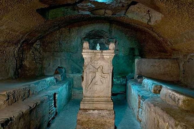 Rome Undergrounds Private Guided Tour 7/8 hrs