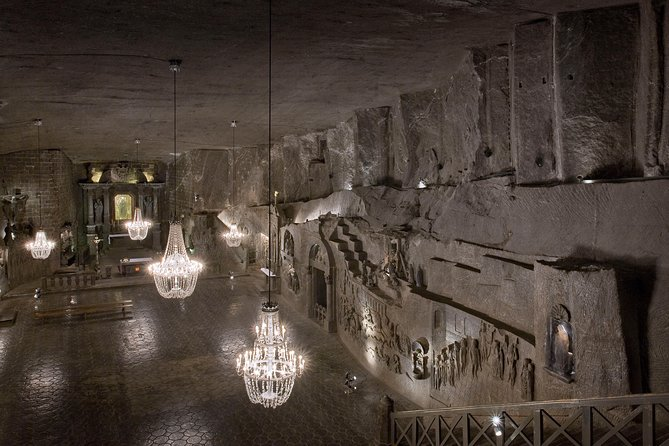Wieliczka Salt Mine Tour from Krakow with Private Round-Trip Transfers