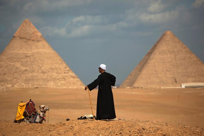 Sightseeing Day Tour to Pyramids, Egyptian Museum and Bazaar from Giza or Cairo photo 12
