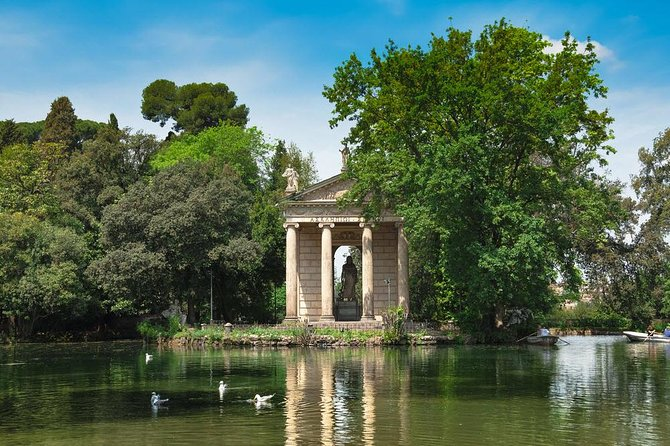 Villa Borghese Tour and Bioparco di Roma Entrance Ticket