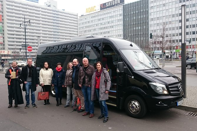 Group Driving Tour from 1 - 6 people for 4 hours Highlights of Berlin