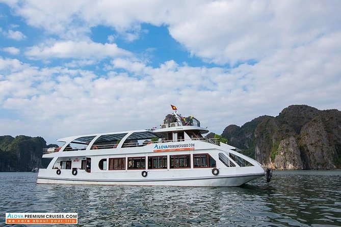 HALONGBAY FULLDAY TRIP - Luxury Cruise WITH TRANSFER ON HIGHWAY - LIMOUSINE BUS