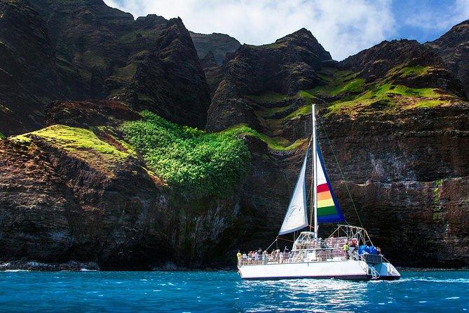 デラックス カウアイ島 ナパリ シュノーケルツアー(スキューバダイビングのオプションあり)