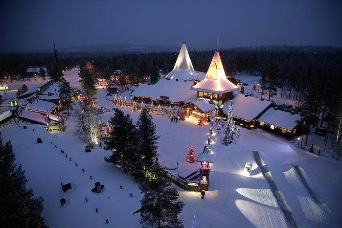 Arctic Delight - Visit to Santa's Village and snowmobiling to reindeer farm