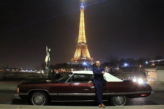 Experiencia de Chevrolet vintage de París al aire libre