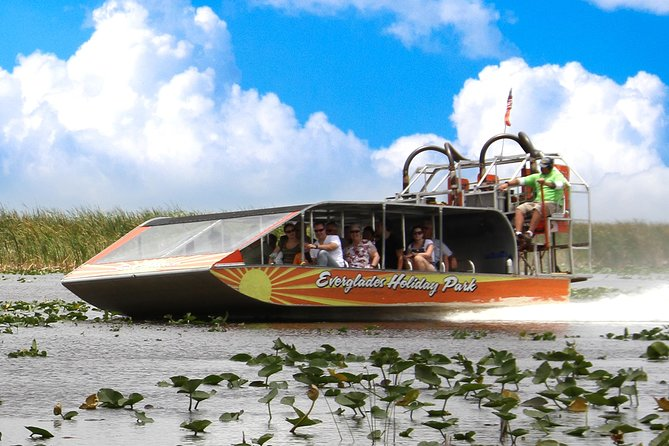 Everglades Airboat Tour & Gator Boys Alligator Rescue Show
