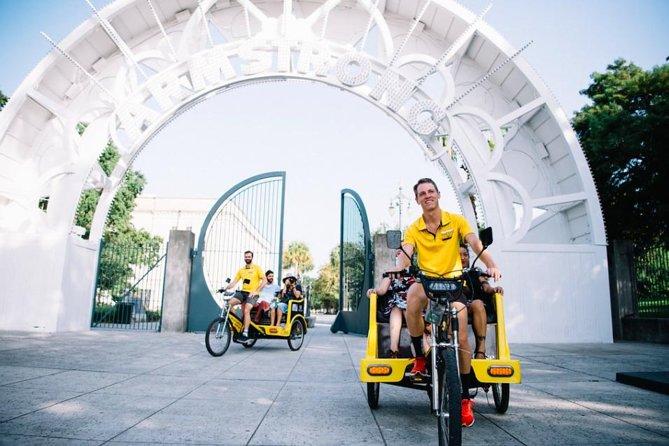 Private Creole Treme Pedicab Tour