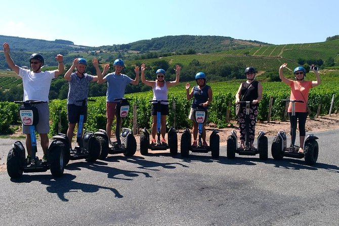 Beaujolais Segway Tour with Wine Tasting