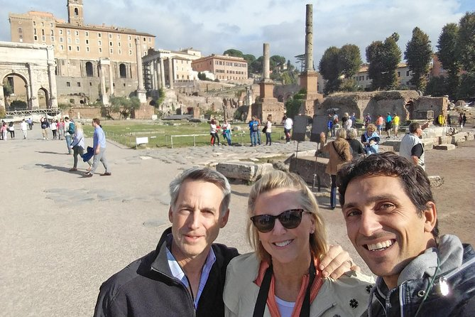 Skip-the-line tour of the Colosseum & Ancient Rome by Tommaso with Hotel pick up